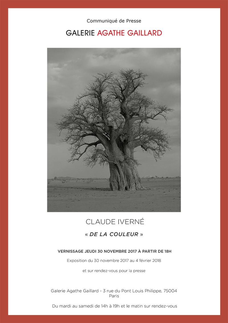 Claude Iverné 'DE LA COULEUR